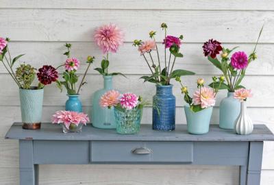 Mix & Match mit Töpfen und Vasen